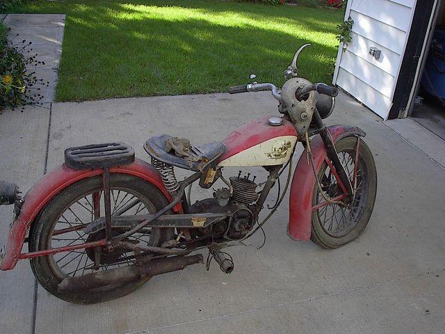 67 Harley Davidson 125 S 1948